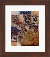 Rome Collage Fine Art Print
