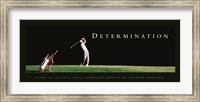 Determination-Golfer Fine Art Print
