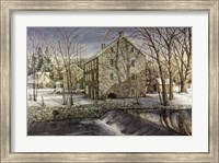 Mill in the Morning Fine Art Print