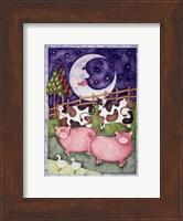 Old Macdonald Pigs Fine Art Print