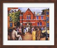 City Church Gathering Fine Art Print