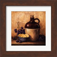 Jug with Grapes and Lemons Fine Art Print