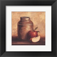 Crock With Apples Fine Art Print