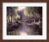 Willow Park Lake Fine Art Print