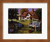 Garden Scene Fine Art Print