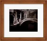 Canal Bridge Fine Art Print