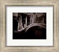Canal Bridge Fine Art Print