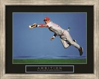 Ambition - Baseball Player Fine Art Print