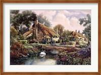 Village Of Dorset Fine Art Print