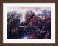 Willow Creek Mill Fine Art Print
