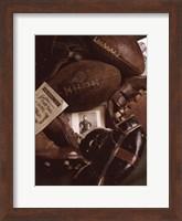 Vintage Football (Sepia) Fine Art Print