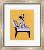 Riley The Dalmatian Puppy Fine Art Print