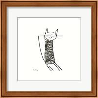 Knit Cat Fine Art Print
