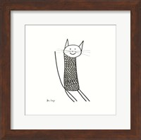 Knit Cat Fine Art Print