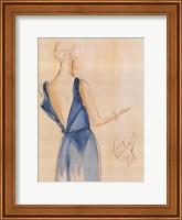 Blue Dress I Fine Art Print