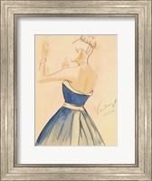 Blue Dress II Fine Art Print