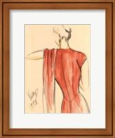 Red Dress II Fine Art Print