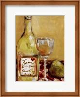 Picnic With Chardonnay Fine Art Print