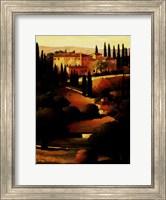 Green Hills of Tuscany I Fine Art Print