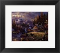 Mountain Hideaway Fine Art Print