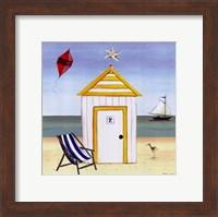 Beach House 2 Fine Art Print
