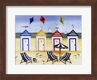 Beach Houses Fine Art Print