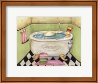 Bathing Lady II Fine Art Print