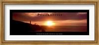 Possibilities - Lighthouse At Sunset Fine Art Print