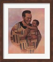 Family Values Man Fine Art Print