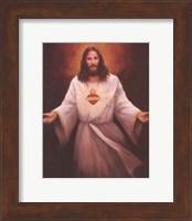 Jesus' Sacred Heart Fine Art Print