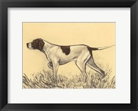 Hunting Dogs-Pointer Fine Art Print