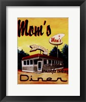 Mom's Diner Fine Art Print