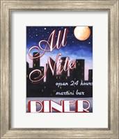 All Nite Diner Fine Art Print