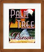Palm Tree Diner Fine Art Print