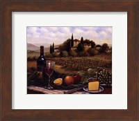 Terrace At Chianti Fine Art Print