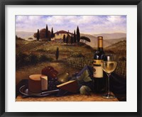 Terrace At Vitiano Fine Art Print