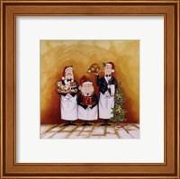 Christmas Waiters Fine Art Print