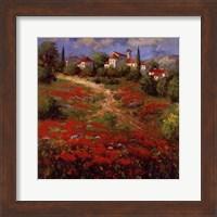 Country Village II Fine Art Print