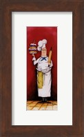 Chef With Pastry Fine Art Print