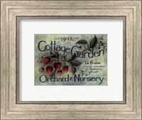 Cottage Garden I Fine Art Print