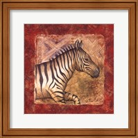 Zebra Safari Fine Art Print