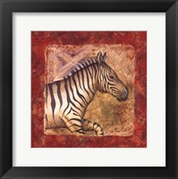 Zebra Safari Fine Art Print