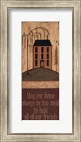 May Our Home Fine Art Print