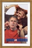 Dumb and Dumber Bush Wall Poster