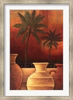 Sunset Palms I Fine Art Print