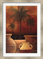 Sunset Palms II Fine Art Print