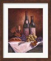 Wine & Grape II Fine Art Print