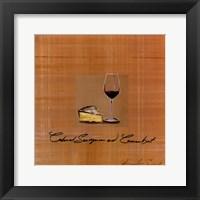 Wine Cheese I Fine Art Print