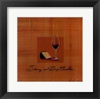 Wine Cheese III Fine Art Print