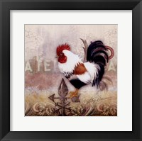 Paisley Rooster Fine Art Print